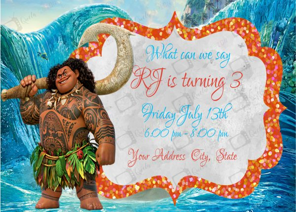 Maui Digital Invitation